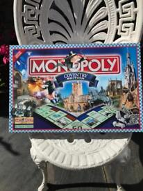 Coventry edition of Monopoly. Rare limited edition.