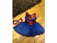 Spider girl superhero costume