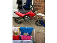 Demon x 140cc stomp not pit bike
