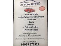 Repairs and spraying