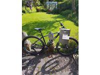 Mountain bike cube limted pro black line edition hardtail