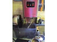 Gaggia Classic coffee maker and grinder
