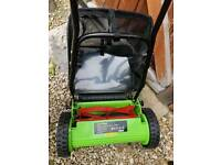 Hand push mower