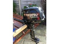 Tohatsu 4hp outboard motor - SOLD