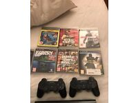 [CHRISTMAS DEAL] SONY PS3 SUPER SLIM 500GB + 2 OFFICIAL CONTROLLERS + 7 GAMES
