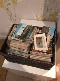 5000 Vintage English Seaside Postcards 1900s to 1970s