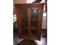 Antique style - Priory wall mounted display cabinet - perfect for a cottage , or even up-cycling!?