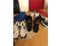Job lot trainers. Nike, Adidas, m&s and vans