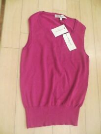 L K Bennett ladies sleeveless jumper Brand new with tags