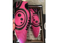 Brand new boxed Optimum rugby boots Size 10 pink
