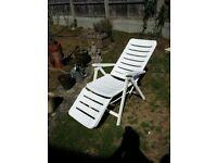 garden chair ,sturdy strong chair reclines
