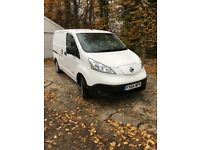 NISSAN ACENTA E-NV200 PANEL VAN, 2014, ELECTRIC, LOW MILEAGE, BEAUTIFUL CONDITION, AIR-CON