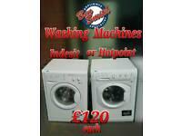 Washing machine Indesit Hotpoint Bosch White