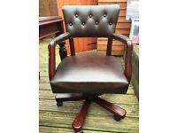 Desk and matching office chair for sale