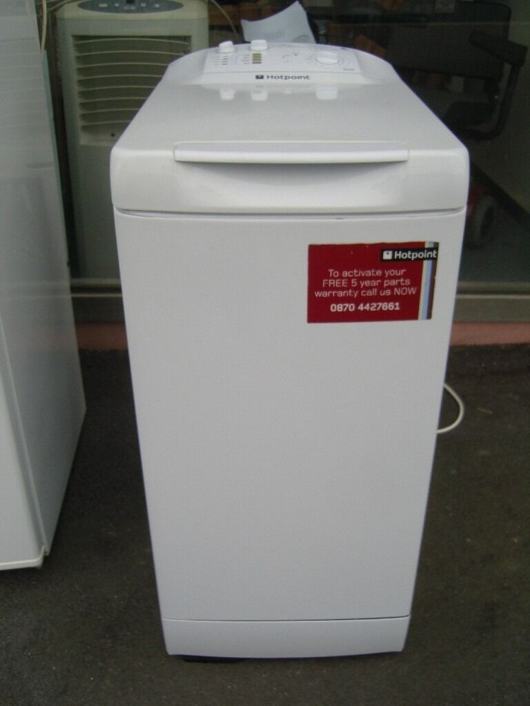 Hotpoint Top Loading Washing Machine Hotpoint Top Loading Washing Machine Wt 400 Washer 1000 Spin 5kg