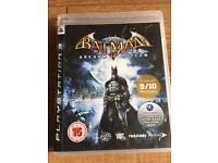 Batman Arkham Asylum PlayStation 3 game
