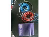 Mosfet amplifier and leads £35