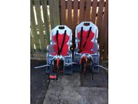 Bike rear seat for child x2