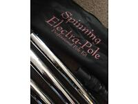 Electra spinning pole - pole fitness/dancing