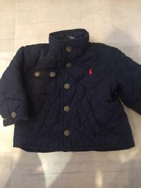 Boys Ralph Lauren coat 12 months