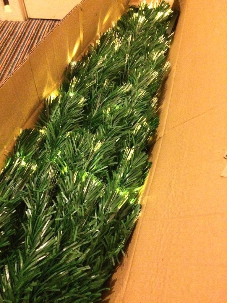 6d90bbaaba29a Green Fibre Optic Christmas Tree - 5 foot - White Multi function lights ...