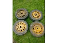 "FREE! 15"" steel wheels"