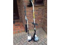 Petrol Hedge Trimmer and Grass Strimmer - TITAN 2 in 1 TTL488GDO BENT SHAFT PETROL 2-IN-1