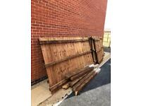 Brand new 5ft Close board fence roughly 20 meters with posts