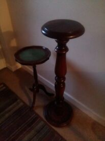 Plant stands / tables - upcycling project?