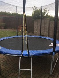 10ft trampoline excellent condition brand new selling as not enough room for it