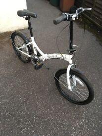 """Saxon Sendero 20"""" folding bike"""