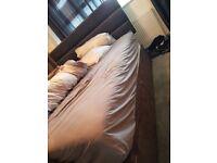 Super king divan bed with mattress