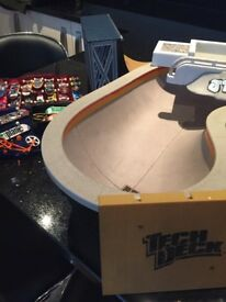 Large selection of tech deck skateboards and ramps