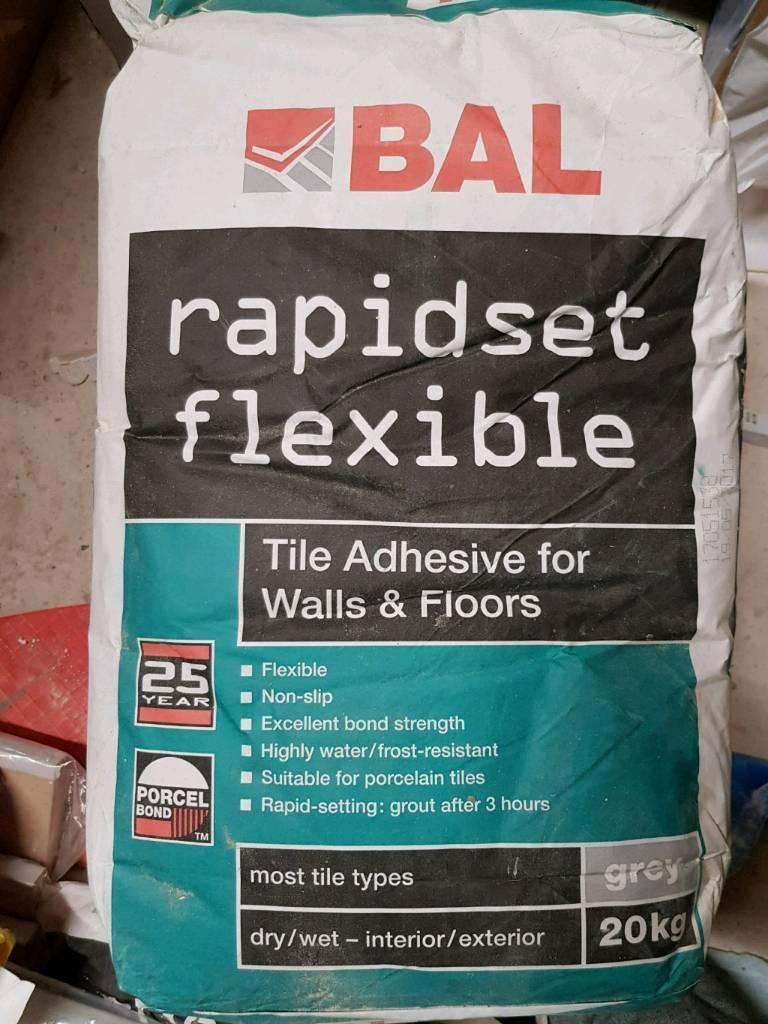Bal rapidset flexible tile adhesive in wroughton wiltshire bal rapidset flexible tile adhesive dailygadgetfo Choice Image