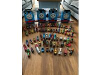 Thomas take and play trains and storage boxes