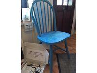 Annie Sloan 'Fish' Chair