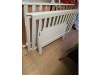Babies R Us Devonshire white cot bed