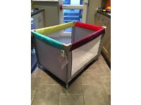 Mother care travel cot