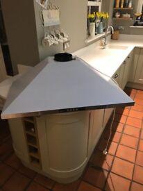 Neff - chimney hood D69B21N0GB BNIB with 150mm chimney hood ducting kit kitchen extractor fan