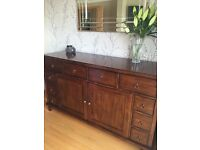 Dining room furniture for sale- table, 6 chairs and sideboard JUST REDUCED AS NEED IT GONE ASAP