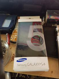 samsung official s5 charging wallet cover