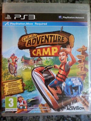 CABELA´S ADVENTURE CAMP PS3 Nuevo Cabelas Gran acción aventura en castellano´´