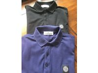 Stone Island Polo Neck Shirts £20 each