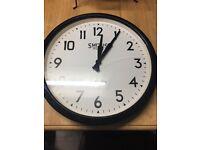 Smiths of London Metal Wall Clock
