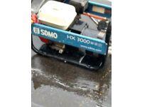 SDMO HX 3000 Generator. Excellent Condition