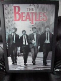 Beatles 3D picture in Black & White