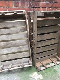 Wooden Crates - 6 available (£5 each)