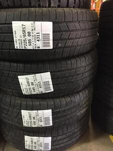 225/65/17 Michelin Defender XT Allseasons tires