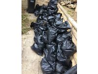 Gravel hardcore - approx 40 bags - free!