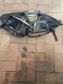 Windsurfing seat harness